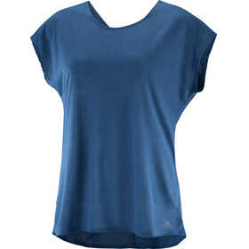 Salomon Comet t-shirt Dames blauw